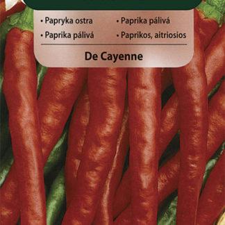 Paprika pálivá De Cayenne (Vilmorin)