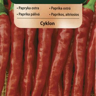 Paprika ostrá Cyklon (Vilmorin)