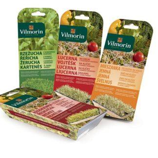 Semena na klíčky - domácí zahrádka Vilmorin