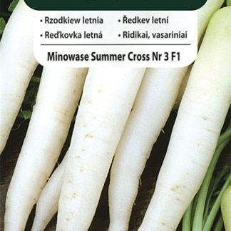 Ředkev letní Minowase Summer Cross Nr 3 F1 (Vilmorin)