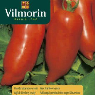 Rajče skleníkové vysoké Cornabel F1 - tvar papriky (Vilmorin)