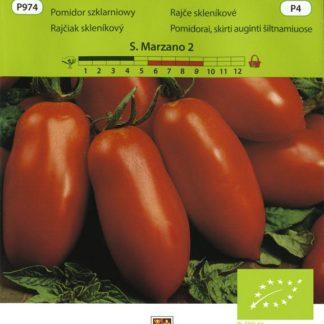 Rajče skleníkové San Marzano 2 - oválný tvar (Vilmorin)