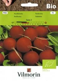 Ředkvička Saxa 2 (červená) BIO