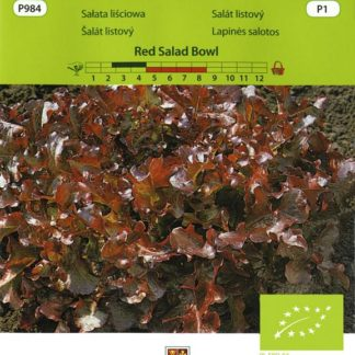 Salát listový Red Salad Bowl (Vilmorin)