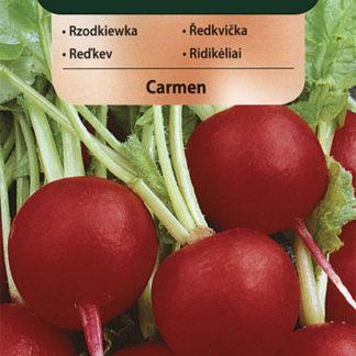 Ředkvička Carmen - červená (Vilmorin)