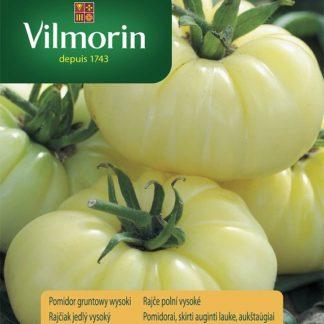 Rajče polní vysoké White Beefsteak - bílé (Vilmorin)