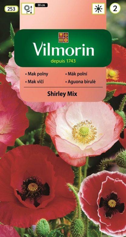 Mák polní Shirley Mix - směs (Vilmorin)
