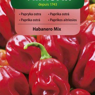 Paprika ostrá (chilli) Habanero Mix - směs (Vilmorin)