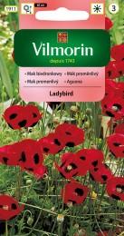 Mák proměnlivý Ladybird (červený)