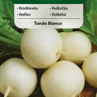 Ředkvička Tondo Bianco - bílá (Vilmorin)
