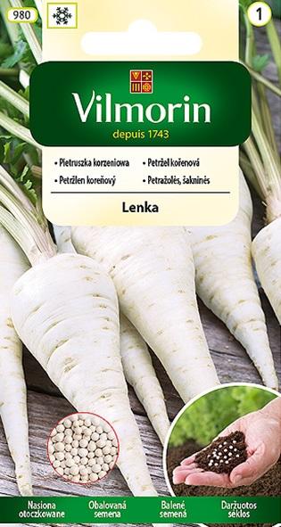Petržel kořenová Lenka - obalovaná semena (Vilmorin)