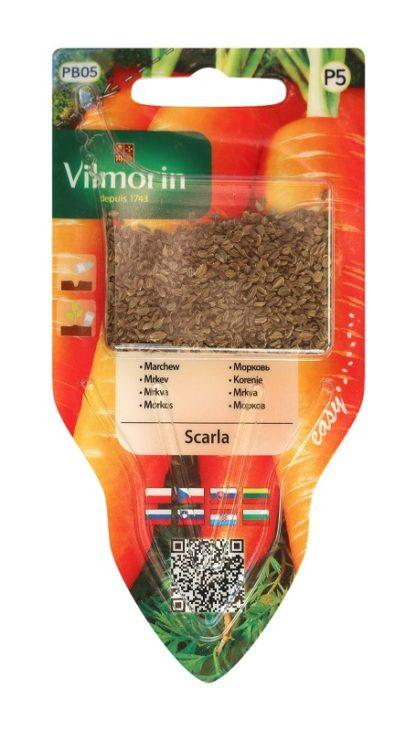 Mrkev Scarla s aplikátorem semen (Vilmorin)
