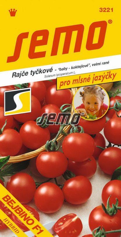 Rajče tyčkové Bejbino F1 - baby, koktejlové (Semo)
