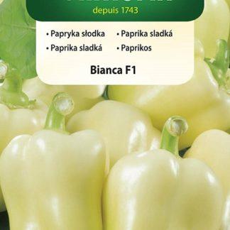 Paprika sladká Bianca F1 - bílá (Vilmorin)