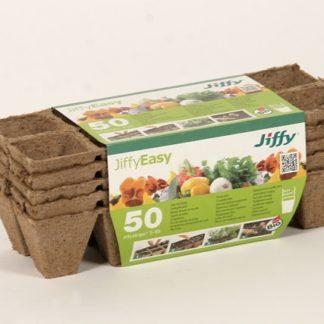 Rašelinový sadbovač Jiffystrips® 5 - 50 (čtvercový)