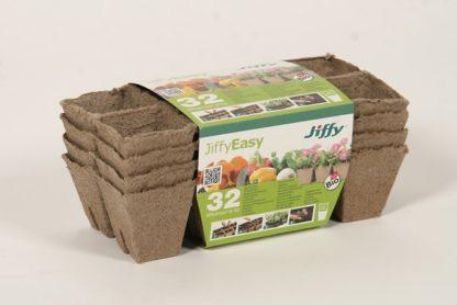 Rašelinový sadbovač Jiffystrips® 6 - 32 (čtvercový)
