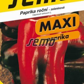 Paprika roční Alceo F1 - červená, MAXI (Semo)