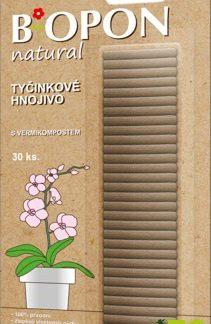 Tyčinkové hnojivo s vermikompostem BiOPON natural (30 ks)
