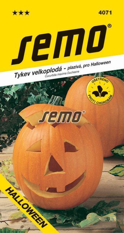 Tykev velkoplodá Gran Gigante - Halloween (Semo)