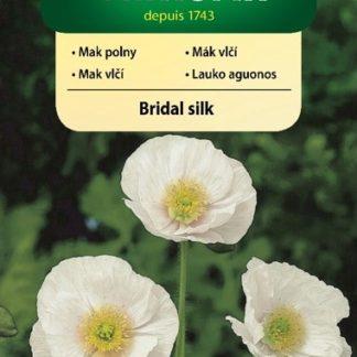 Mák vlčí Bridal Silk - bílý (Vilmorin)
