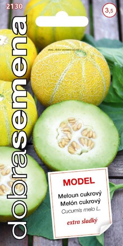 Meloun cukrový Model - extra sladký (Dobrasemena)
