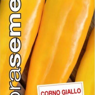 Paprika roční Corno Giallo - žlutá, XXL (Dobrasemena)