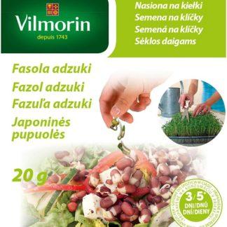 Fazol adzuki - semena na klíčky (Vilmorin)