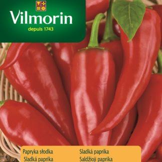 Sladká paprika Sora - kozí roh, červená (Vilmorin)
