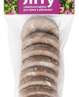 Rašelinové tablety Jiffy pro výsev a pěstování 44/7 (rosteto)