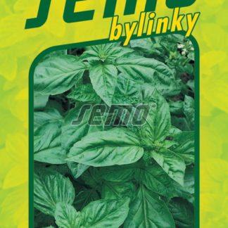 Bazalka pravá Dark Green - širokolistá (Semo)