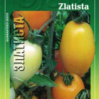 Rajče tyčkové Zlatista - oranžové vajíčko (GEOSEMselect)