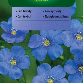 Len vytrvalý - modrý (Vilmorin)