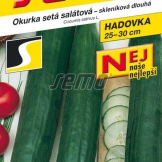 Okurka setá salátová Superstar F1 - hadovka, skleníková, dlouhá (Semo)