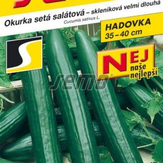 Okurka setá salátová Vista F1 - hadovka, skleníková, velmi dlouhá (Semo)