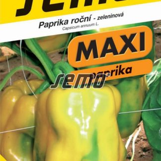 Paprika roční Theos F1 - žlutá, MAXI (Semo)