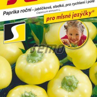 Paprika roční Jablina F1 - jablíčková, sladká (Semo)