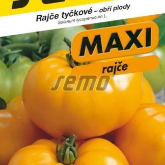 Rajče tyčkové Yellow Gazzi Ribbed - žluté, obří plody (Semo)