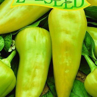 Paprika zeleninová Duval F1 - sladká, žlutý jehlan, k rychlení (Zelseed)