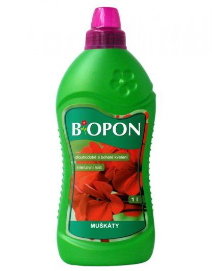 Hnojivo BiOPON na muškáty (tekuté, 500 ml)
