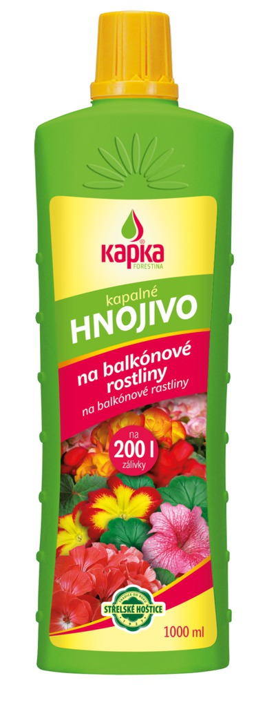 KAPKA na balkónové rostliny (tekuté, 1000 ml)