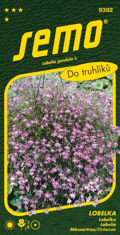 Lobelka drobná Lila - růžovofialová (Semo)