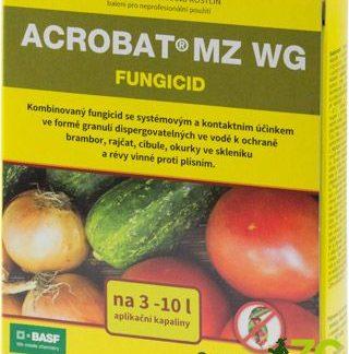 Kombinovaný fungicid proti plísni na bramborách, rajčatech, révě a okurkách ve skleníku (2x10g)