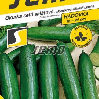 Okurka setá salátová Formule F1 - hadovka, skleníková, středně dlouhá (Semo)