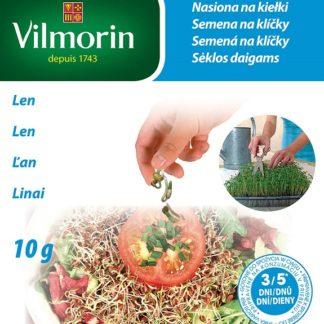 Len - semena na klíčky (Vilmorin)