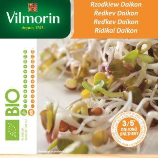 Ředkev Daikon - BIO semena na klíčky (Vilmorin)