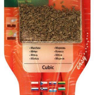 Mrkev Cubic s aplikátorem semen (Vilmorin)