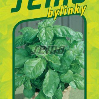 Bazalka pravá Lettuce Leaf - salátová (Semo)